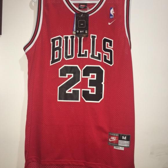 Michael Jordan Chicago Bulls Nike Swingman Jersey 447b16928